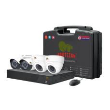 Mixed Kit 1MP 4xAHD комплект для видеонаблюдения