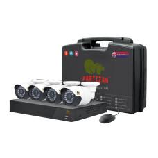 Outdoor Kit 1MP 4xAHD комплект для видеонаблюдения
