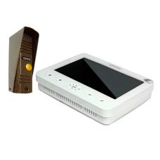 Комплект домофона E706FC+KW-139MCS (white)